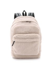 Marc By Marc Jacobs | Natural Sherpa Ultimate Backpack for Men | Lyst