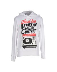 Franklin & Marshall | White Sweatshirt for Men | Lyst