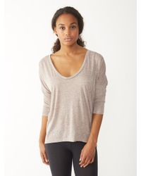 Alternative Apparel | Brown Dolman Eco-jersey Top | Lyst