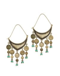 Jenny Bird | Metallic August Moon Earrings | Lyst