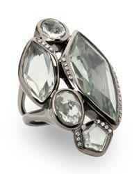 Ippolita - Wicked 5-stone Green Amethyst Ring - Lyst