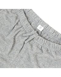 Sunspel - Gray Men's Cashmere Track Pant for Men - Lyst