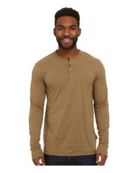 Patagonia - Natural L/s Daily Henley for Men - Lyst