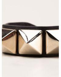 Valentino Metallic 'Rockstud' Bracelet
