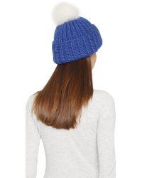 Eugenia Kim - Blue Rain Hat - Lyst