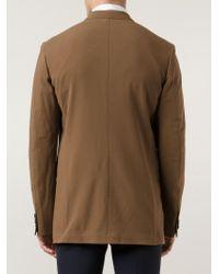 Cerruti 1881 Brown Double Breasted Coat for men