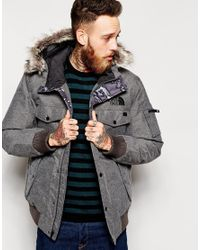 Lyst The North Face Gotham Jacket In Gray For Men