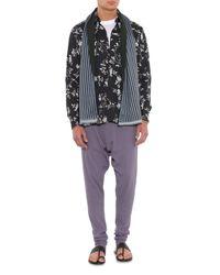 Haider Ackermann | Black Floral-Print Shirt for Men | Lyst