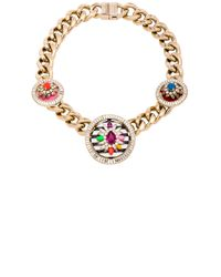 Shourouk | Multicolor Maximus Necklace | Lyst