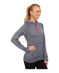 Adidas | Blue Ultimate Fleece Pullover Hoodie | Lyst