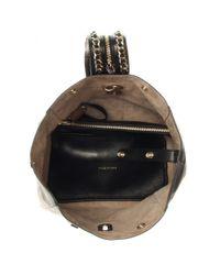 Jimmy Choo | Black Echo Leather Backpack | Lyst