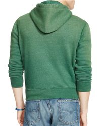 Polo Ralph Lauren   Green Full-zip Fleece Hoodie for Men   Lyst