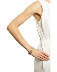 Sidney Garber - Pink Diamond Rose Gold Slender Flexible Cuff - Lyst