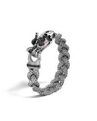 John Hardy   Batu Naga Dragon Black Sapphire Bracelet   Lyst
