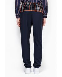 3.1 Phillip Lim - Blue Tapered Pant With Waist Combo for Men - Lyst