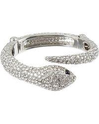 Roberto Cavalli | Metallic Embellished Serpent Bracelet | Lyst