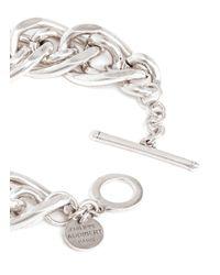 Philippe Audibert - Metallic Gourmette Chain Bracelet - Lyst