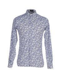 Giuliano Fujiwara - Blue Shirt for Men - Lyst