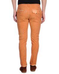 Dondup | Orange Casual Trouser for Men | Lyst