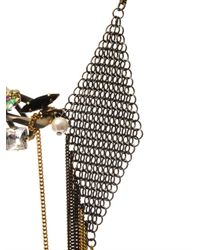 Vickisarge - Metallic Nico Snakechain Necklace - Lyst