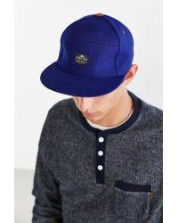 Penfield Blue Sandown Strapback Hat for men