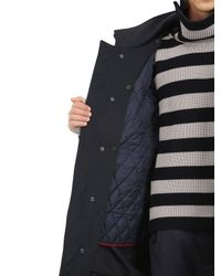 Antonio Marras Blue Wool And Shearling Long Jacket for men