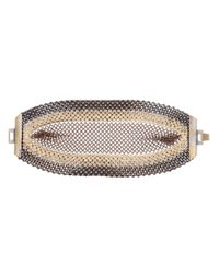 Laura B Metallic Chainlace Belt