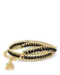 Juicy Couture | Metallic Laced Chain Belt | Lyst