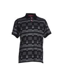 LRG | Black Polo Shirt for Men | Lyst