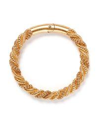 Alexander McQueen | Metallic Crystal Rope Choker | Lyst