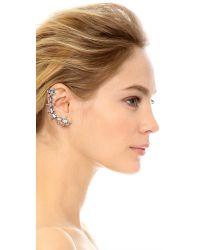 DANNIJO | Metallic Zosia Earring | Lyst