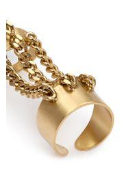 Ela Stone | Metallic 'alexander' Triple Link Ring Set | Lyst