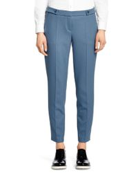 HUGO Blue Regular Fit Trousers: 'helara'