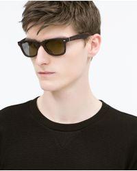 Zara | Black Sweatshirt for Men | Lyst