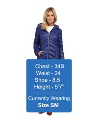 Jessica Simpson - Blue Sueded Rain Trench With Stitching Detail Single Breasted Belted - Lyst