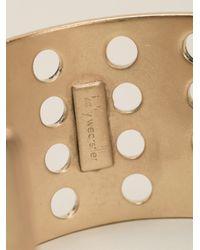 Kelly Wearstler - Metallic Perforated Cuff - Lyst