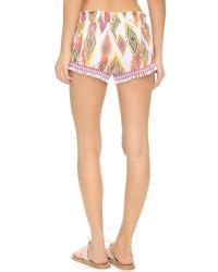 Pilyq Multicolor Sassy Shorts - Summer Patara
