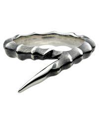Shaun Leane | Metallic Horn Ring | Lyst