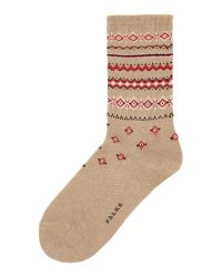 Falke | Natural Norwegian Ankle Socks | Lyst
