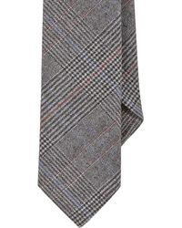 Todd Snyder - Gray Glen Plaid Jacquard Tie for Men - Lyst
