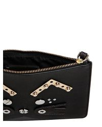 Marc By Marc Jacobs - Black Gato Faux Leather Pouch - Lyst
