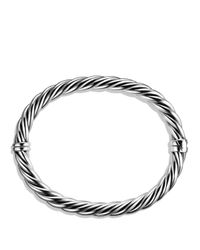 David Yurman | Metallic Sculpted Cable Bracelet | Lyst
