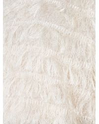 Toga - White Fluffy Sweater - Lyst