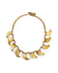 Lulu Frost | Metallic Cleo Multi Necklace | Lyst