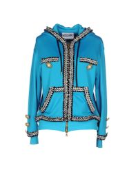 Moschino Couture | Blue Sweatshirt | Lyst