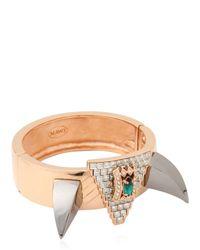 Mawi - Metallic Deco Fang Prism Bracelet - Lyst