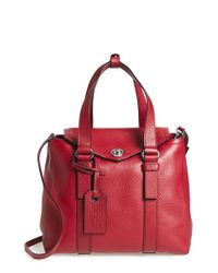 Marc By Marc Jacobs - Red Working Girl Dolly Leather Satchel - Lyst