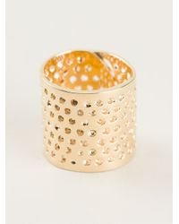 Jennifer Fisher | Metallic 'Bandaid' Ring | Lyst