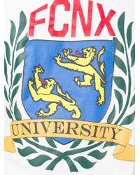 Faith Connexion - White Fcnx University Print T-shirt for Men - Lyst