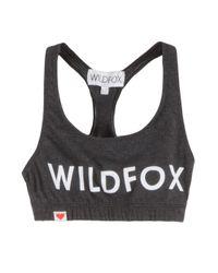Wildfox | Black Spicegirl Cropped Top | Lyst
